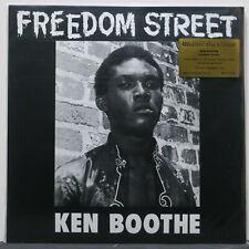 KEN BOOTHE 'Freedom Street' Ltd. Edition 180g ORANGE Vinyl LP NEW/SEALED