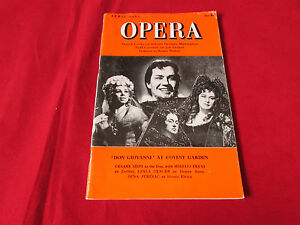OPERA Magazine  Apr  62  Don GIOVANNI at COVENT Garden  Cover
