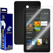 ArmorSuit MilitaryShield Dell Venue 8 Screen Protector + Black Carbon Fiber Skin
