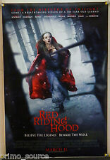 RED RIDING HOOD DS ROLLED ADV ORIG 1SH MOVIE POSTER AMANDA SEYFRIED (2011)