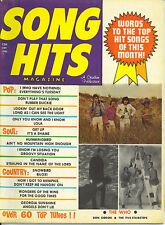 12/70 SONG HITS magazine  THE WHO cover  Don Gibson