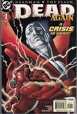 DEAD AGAIN #1-4 DEADMAN & THE FLASH MINI-SERIES - DC COMICS - 2001