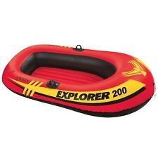 Intex Explorer 2-Person Inflatable Boat Lake Pond Fishing Blow Up Pool Raft New