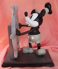"Steamboat Willie 85th Anniversary ""Big"" medium figure Mickey Mouse New Undisp."
