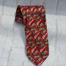 NBA Neck Tie Mens Cleveland Cavaliers 100% Silk Cavs Basketball