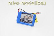 Spektrum DX8 DX9 DX7S Lipo Akku Senderakku 4000mAh 2S 7,4V ersetzt SPMB4000LPTX