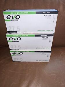 NIB evo (3) Bicycle Tubes S/V - 48MM 27.5 x 2.0-2.4 MTB - Schrader valve