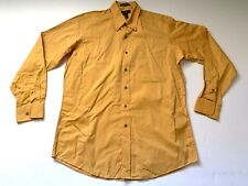 Paul Fredrick Mens Shirt 100% cotton Long Sleeve  Size Medium