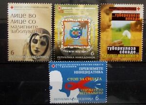 Macedonia 2007 Charity stamps MNH