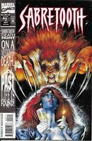 Sabretooth Comic 2 Death Hunt Cover A First Print Larry Hama Mark Texeira Javins