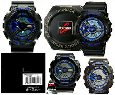 Casio G-Shock GA110CB-1A Tough Black With Blue Tone Watch