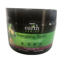 GNC Earth Genius Energizing TonIQ - Raspberry Green Tea 3 oz BB 4/20 Energy