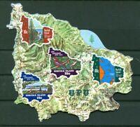 Norfolk Island Scott #184a MNH S/S Maps Flora UPU CV postfrisch Selbstklebend