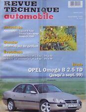 Revue technique OPEL OMEGA B 2.5 TD jusqu'à sept 99vRTA 623 1999 + RENAULT 19