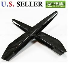 2008-2013 BMW E90 M3 Carbon Fiber Fender Side Turn Signal Grill Grille Covers