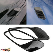 CARBON DRY BMW M3 3-SERIES E90 E92 E93 FRONT HOOD VENT AIR DUST COVER 2013