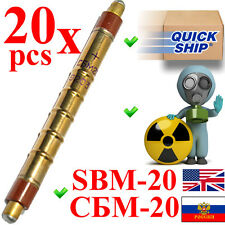 NEW 20 pcs SBM-20 / SBM20 / СБМ-20 (an. STS-5, SI22G) Geiger Tube Counter Tested