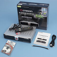 Octagon SF 2028 Optima Twin Sat Receiver silber + WLAN Stick Full HD HDTV 3D TV