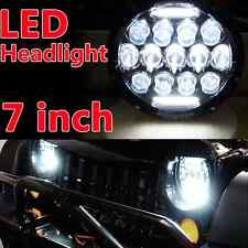 "7"" Round 78W LED Off-Road Work Light Cherokee KJ 2002-2007 DRL High Low Beam 1X"