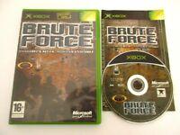 BRUTE FORCE - MICROSOFT XBOX - Jeu X BOX PAL Fr Complet
