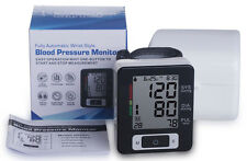 Wrist Blood Pressure Monitor Heart Beat Rate Pulse Meter