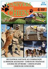 DVD L'univers du Chien - Coffret 4 DVD