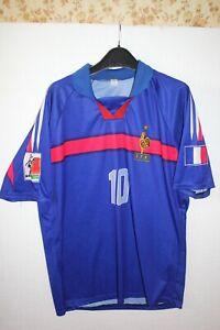 Zinedine Zidane EURO Portugal 2004 Soccer Jersey - size : XXL