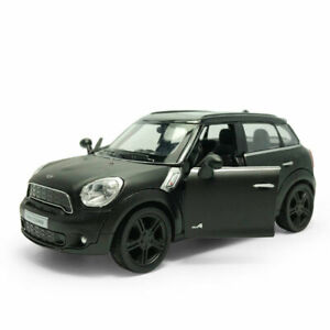 1:36 Mini Cooper S Countryman Model Car Diecast Kids Toy Vehicle Pull Back Black
