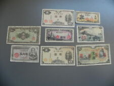 Japan 8 Alte Banknoten