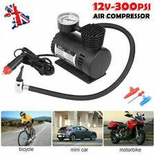 Car Auto Bike Portable 300PSI Pump Tyre Inflators Mini Air Compressor Gauge 12V