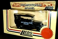 "LLEDO DIECAST PROMOTIONAL MODEL ""METROPOLITAN POLICE"" TOY CAR LIMITED EDITION"