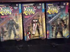 3 1996 mcfarlane total chaos action figures bundle