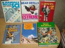 SPORT - Libri sulla boxe, sci, alpinismo, atletica e sport estremi, a 10 € cad.