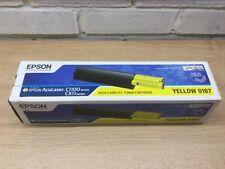 Cartucho de tóner amarillo de 0187 original de Epson Alta Capacidad C1100 CX11 Freepost