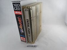 FATAL FURY 2 - NEO GEO MVS NEOGEO ARCADE ORIGINALE + BOX MINI NEOMINIBOX