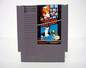 Super Mario Bros. / Duck Hunt Authentic Nintendo NES Cartridge Game 1988