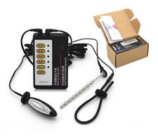 Electro Electric Shock Ring Penis Plug Medical Themed E Stim Set