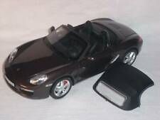 Porsche Boxster 987 Braun Mit Soft Top 1/18 Norev Modellauto Modell Auto