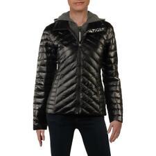 Tommy Hilfiger Womens Black Fall Packable Puffer Jacket...
