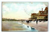 Postcard Panorama View of Nantasket Beach MA 1909 D42