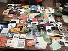 Lot of camera manuals and ephemera Hassleblad Polaroid Nikon Mamiya Pentax
