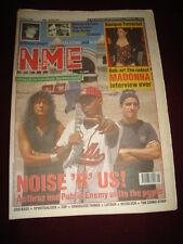 NME 1991 JUNE 22 ANTHRAX PUBLIC ENEMY CHARLATANS CARTER BLUR MADONNA MORRISSEY