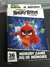 Angry Birds Memory Card Game Matching 36 Cards NEW 2016