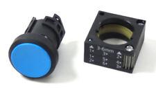 5x SIEMENS 3SB3000-0AA51 | Drucktaster | rund blau | NEU OVP