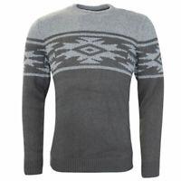 Vans Off The Wall OTW Henrich Crew Pullover Jumper Mens Grey Sweater 2L1H4S CC62