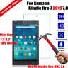 Genuine Tempered Glass Screen Protector for Amazon Kindle Fire 7 2019 9th Gen