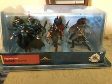 Disney Store Marvel Thor Ragnarok Figurine Set Of 6 FIGURES  NEW