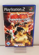 Tekken 5 PLAYSTATION 2, PS2, Ps 2 Boxed + Instructions A5488