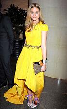 Olivia Palermo x Zara Jewel Metal Chain Belt One-Size-Fits-All