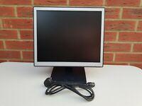 """NEC 17"""" inch NEC LCD1701 17"""" VGA D-SUB TCO03, Colour Black"""